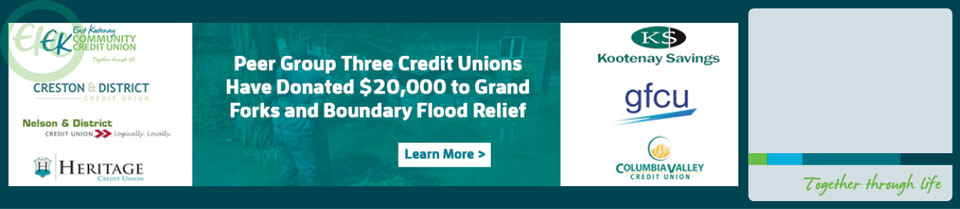 Fundraiser for Grand Forks & Boundary Flood Relief