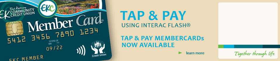 Interac Flash is here!
