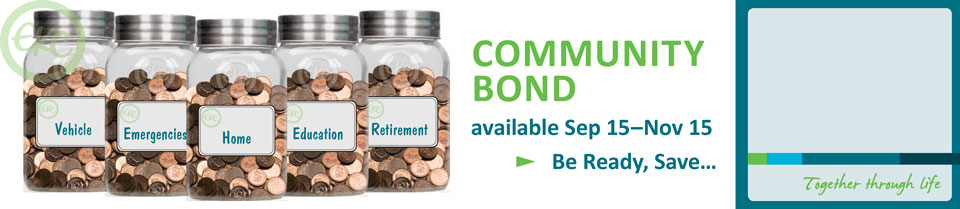 Community Bond is now available!