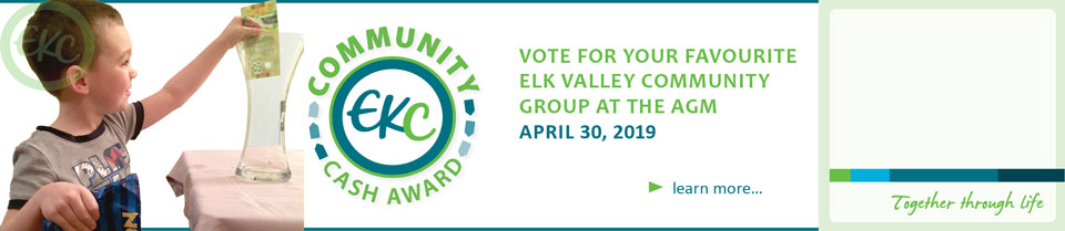 Vote for your Elk Valley Community Cash finalist at the AGM