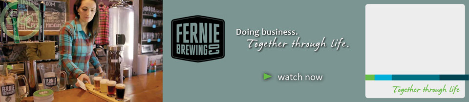 Fernie Brewing Company and EKC