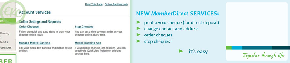 Learn about the new MemberDirect services
