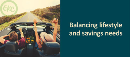 Balancing Lifestyle and Savings Needs