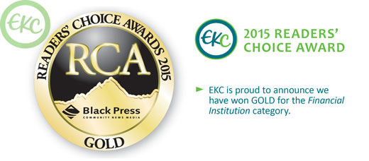 EKC wins Gold!